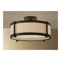 Feiss Stelle 2 Light Semi Flush Mount in Oil Rubbed Bronze SF272ORB alternative photo thumbnail