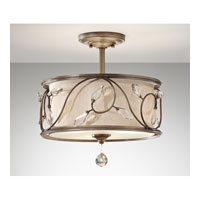 Feiss Priscilla 3 Light Semi Flush Mount in Arctic Silver SF300ARS alternative photo thumbnail