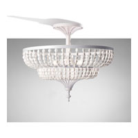 Feiss Maarid 3 Light Semi Flush Mount in White Semi Gloss SF311WSG alternative photo thumbnail