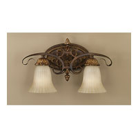 Feiss VS10902-ATS Sonoma Valley 2 Light 19 inch Aged Tortoise Shell Vanity Strip Wall Light in 18.5 alternative photo thumbnail