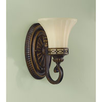 Feiss VS11201-WAL Drawing Room 1 Light 6 inch Walnut Vanity Strip Wall Light in 6.25 alternative photo thumbnail