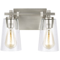 Feiss VS24302SN Mercer 13 inch Satin Nickel Wall Bath Fixture Wall Light in 2