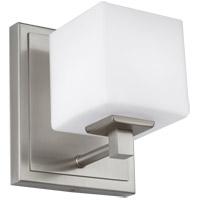 Feiss VS24321SN-L1 Sutton 6 inch Satin Nickel Wall Bath Fixture Wall Light in 1