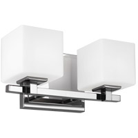 Feiss VS24322CH-L1 Sutton 12 inch Chrome Wall Bath Fixture Wall Light photo thumbnail