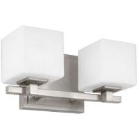Feiss VS24322SN-L1 Sutton 12 inch Satin Nickel Wall Bath Fixture Wall Light