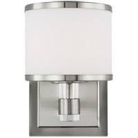 Feiss VS24371SN-L1 Winter Park 5 inch Satin Nickel Wall Bath Fixture Wall Light in 1