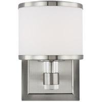 Feiss VS24371SN-L1 Winter Park 5 inch Satin Nickel Wall Bath Fixture Wall Light in 1