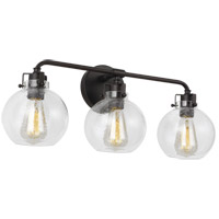 Feiss VS24403ORB Clara 24 inch Oil Rubbed Bronze Wall Bath Fixture Wall Light in 3