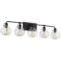 Feiss VS24405ORB Clara 40 inch Oil Rubbed Bronze Wall Bath Fixture Wall Light in 5