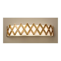 Feiss Hugo 3 Light Vanity Strip in Bali Brass VS35005-BLB
