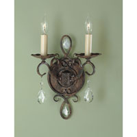 Feiss WB1227MBZ Chateau 2 Light 9 inch Mocha Bronze Wall Sconce Wall Light alternative photo thumbnail