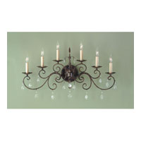 Feiss Chateau 6 Light Wall Bracket in Mocha Bronze WB1228MBZ alternative photo thumbnail