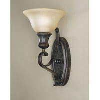Feiss Cervantes 1 Light Wall Bracket in Liberty Bronze WB1240LBR