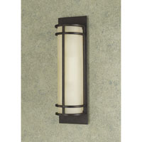 Fusion 2 Light 5 inch Grecian Bronze ADA Wall Sconce Wall Light in Standard