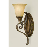 Feiss Kelham Hall 1 Light Wall Sconce in Firenze Gold and British Bronze WB1418FG/BRB alternative photo thumbnail