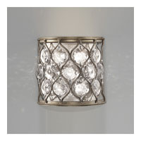 Feiss WB1497BUS Lucia 1 Light 8 inch Burnished Silver Wall Sconce Wall Light photo thumbnail