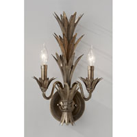 Feiss Flora 2 Light Wall Sconce in Stardust WB1574STA alternative photo thumbnail