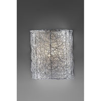 Feiss Wired 1 Light Wall Sconce in Brushed Steel WB1578BS