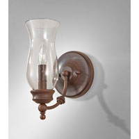 Feiss WB1597HTBZ Pickering Lane 1 Light 6 inch Heritage Bronze Wall Sconce Wall Light alternative photo thumbnail