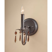 Feiss Marcia 1 Light Wall Sconce in Rustic Iron WB1603RI