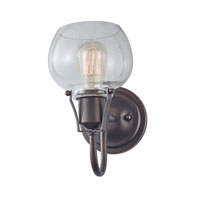 Feiss WB1702RI Urban Renewal 1 Light 6 inch Rustic Iron Wall Sconce Wall Light