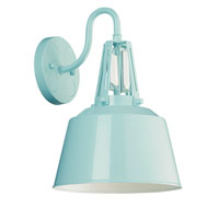 Feiss Freemont 1 Light Wall Sconce in Hi Gloss Blue WB1726SHBL