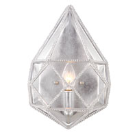 Marquise 1 Light 9 inch Silver Wall Sconce Wall Light