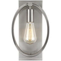 Feiss WB1847SN Marlena 8 inch Satin Nickel Wall Bath Fixture Wall Light