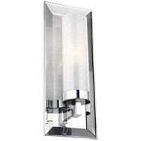 Pippin 5 inch Chrome Wall Bath Fixture Wall Light