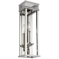 Feiss WB1892PN Woodruff 5 inch Polished Nickel Wall Bath Fixture Wall Light in 1