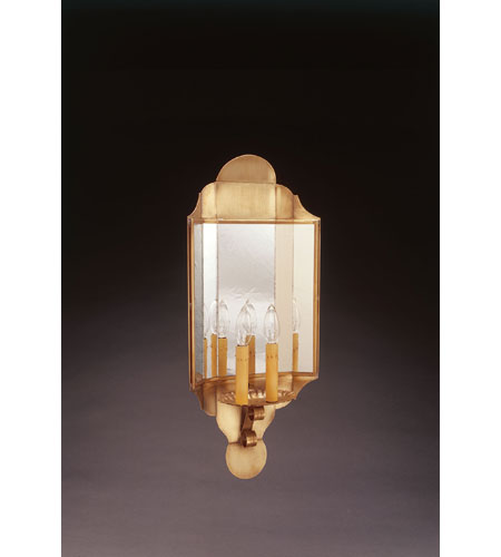 Northeast Lantern Antique Brass Wall Sconces