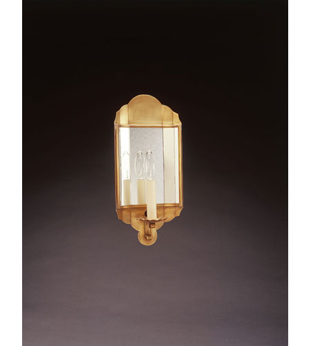 Northeast Lantern 101S-AB-LT1-PM Signature 1 Light 7 inch Antique Brass Wall Sconce Wall Light in Plain Mirror photo