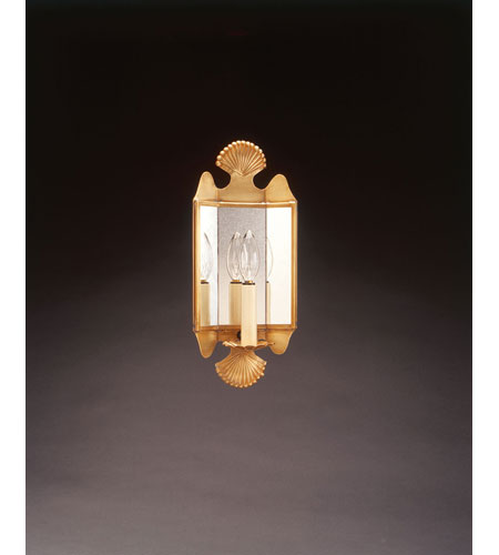 Northeast Lantern Signature 1 Light Wall Sconce in Antique Brass 126-AB-LT1-PM photo