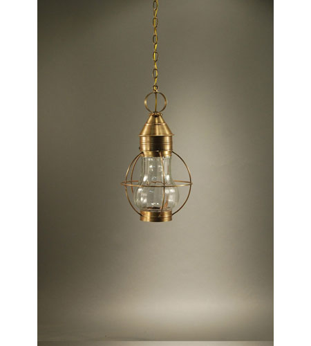 Northeast Lantern Bosc 1 Light Hanging Lantern in Antique Brass 2732-AB-MED-OPT photo