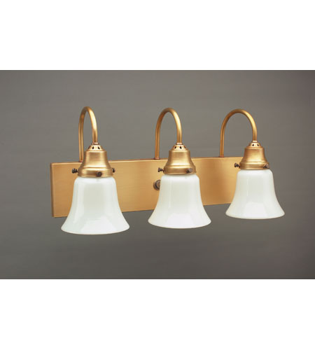 Northeast Lantern Signature 3 Light Wall Lantern in Antique Brass 4931-AB-MED3-38W photo