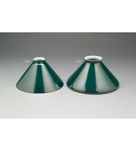 Northeast Lantern 70G Accessory Green 10 inch Glass Shade photo
