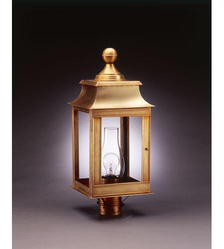 Northeast Lantern Concord 1 Light Post in Antique Brass 5633-AB-CIM-CLR photo