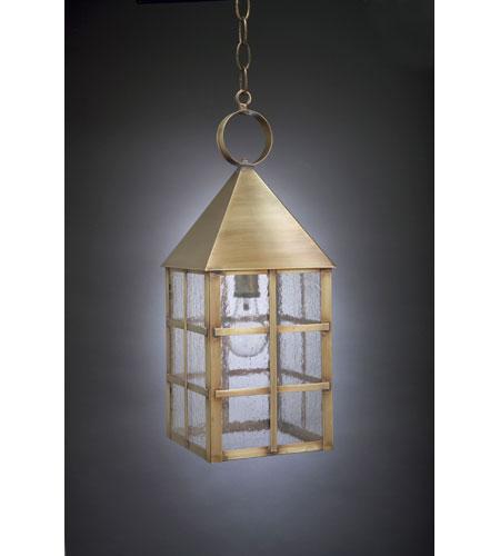 Northeast Lantern York 1 Light Hanging Lantern in Antique Brass 7142-AB-MED-SMG photo