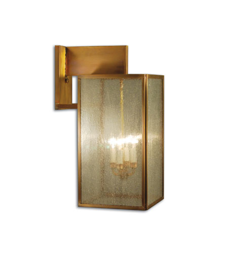 Northeast Lantern Midtown 4 Light Outdoor Wall Lantern in Antique Brass 7547-AB-LT4-SMG photo