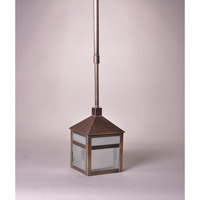 Northeast Lantern Waverly 1 Light Pendant in Dark Antique Brass 0742-DAB-MED-FST-CRD-AP10