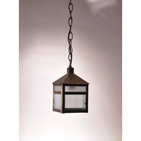 Northeast Lantern Waverly 1 Light Pendant in Dark Antique Brass 0742-DAB-MED-FST-CRD