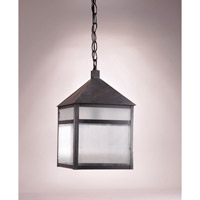 Northeast Lantern Waverly 1 Light Pendant in Dark Brass 0762-DB-MED-FST-CRD