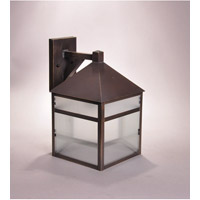 Northeast Lantern Waverly 1 Light Wall Lantern in Dark Antique Brass 0767-DAB-MED-FST-CRD