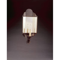 Signature 1 Light 8 inch Dark Brass Wall Sconce Wall Light in Plain Mirror