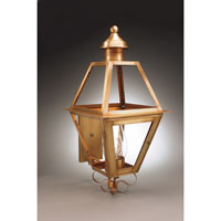 Northeast Lantern Boston 1 Light Outdoor Wall Lantern in Antique Brass 1061-AB-CIM-CLR
