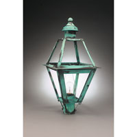 Northeast Lantern Boston 1 Light Post in Verdi Gris 1063-VG-CIM-CLR
