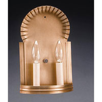 Northeast Lantern  Sconce Antique Brass 2 Candelabra Sockets  109-AB-LT2