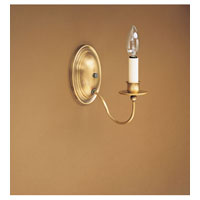 Signature 1 Light 4 inch Antique Brass Wall Sconce Wall Light