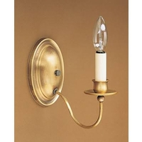 Signature 1 Light 4 inch Raw Brass Wall Sconce Wall Light