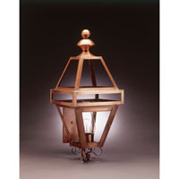 Northeast Lantern Boston 1 Light Outdoor Wall Lantern in Antique Brass 1221-AB-CIM-CLR